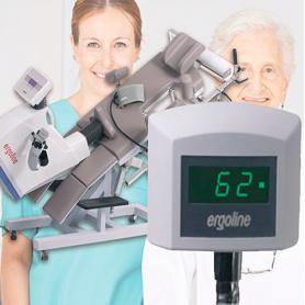 Ergo-Case / Pantalla paciente para ergómetros recostados