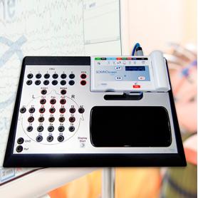 Comtec / Sistema estacionario para grabaciones de EEG a largo plazo