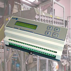Railtec B / Módulo de sistema CAN BUS para máquinas envasadoras