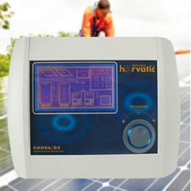 Diatec & Star-Knobs / Unidad de control para instalaciones solares fotovoltaicas