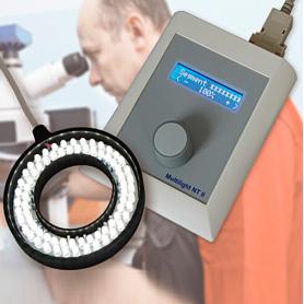 Com-Knobs & Comtec / Controlador para iluminación LED en procesado de imagen y microscopía