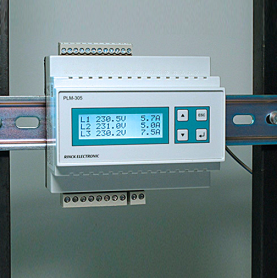 Railtec B / Dispositivo de medición de potencia para análisis de energía