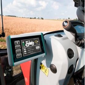 Smart-Terminal / Terminal ISOBUS para tractores y máquinas autopropulsadas