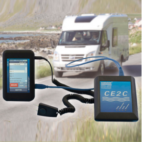 Comtec & Smart-Case & Soft-Case / Sistema de detección de fugas en caravanas y autocaravanas