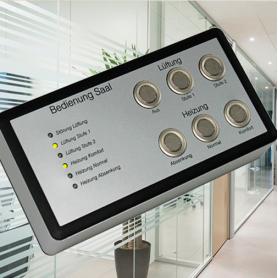 Synergy / Paneles de control de habitación individual