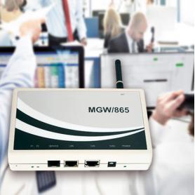 Cajas de armazón / Teleservicio Gateway MGW / 865