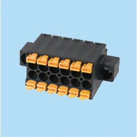 BC0181A1 / Twin plug pluggable double push-in - 3.50 mm