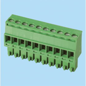 BCEC381R / Plug for pluggable terminal block screw - 3.81 mm