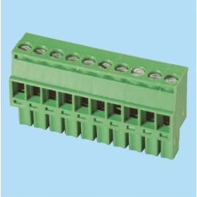 BCEC381RL / Plug for pluggable terminal block screw - 3.81 mm