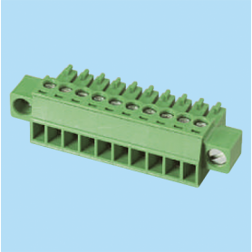 BCEC381VM / Plug for pluggable terminal block screw - 3.81 mm