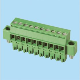 BCEC381RM / Plug for pluggable terminal block screw - 3.81 mm