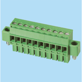 BCEC381RLM / Plug for pluggable terminal block screw - 3.81 mm