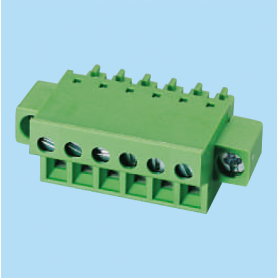 BCEC381FM / Plug for pluggable terminal block screw - 3.81 mm