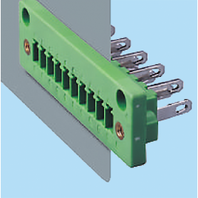 BCECHP381V / Plug for pluggable terminal block screw - 3.81 mm