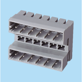 BC013513 / Header for pluggable terminal block - 5.00 mm