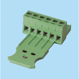 BC2ESDL / Plug for pluggable terminal block screw - 5.08 mm