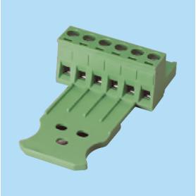 BC2ESDL / Plug for pluggable terminal block screw - 5.08 mm