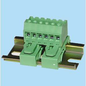 BC2EHDRD / Plug for pluggable terminal block screw - 5.08 mm
