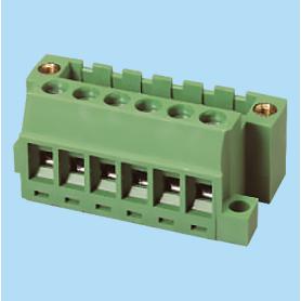 BC2EHDRSM / Plug for pluggable terminal block screw - 5.08 mm