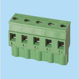 BC7ESDPL / Plug for pluggable terminal block screw - 7.50 mm