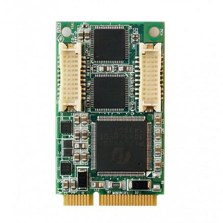 MEC-LAN-M002-R1 / Tarjeta de red 2xGLAN Mini  PCI express