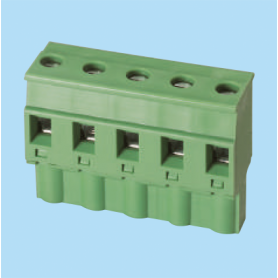 BC3ESDPL / Plug for pluggable terminal block screw - 7.62 mm