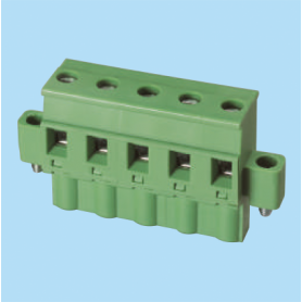 BC3ESDPLM / Plug for pluggable terminal block screw - 7.62 mm