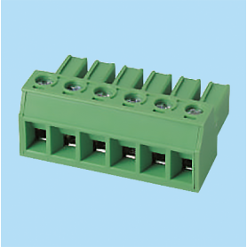 BCEC762V / Plug for pluggable terminal block - 7.62 mm