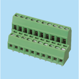 BCEK350V4L / PCB terminal block - 2.54 / 3.50 mm