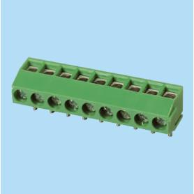 BCED350R / PCB terminal block - 2.54 / 3.50 mm