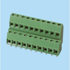 BCEK381V4L / PCB terminal block - 3.81 mm
