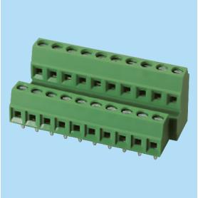 BCEK381V4R / PCB terminal block - 3.81 mm