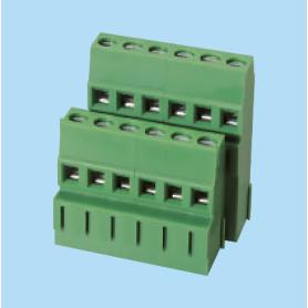 BCEK508V2L / PCB terminal block - 5.08 mm