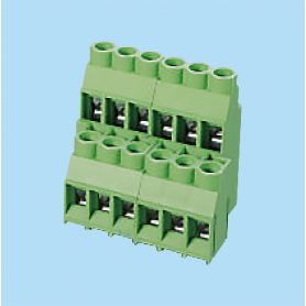 BCEKB635V / PCB terminal block High Current (24-30-32 A) - 6.35 mm