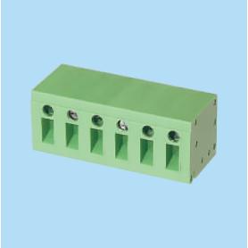 BCDT123HVR / PCB terminal block - 5.00 / 7.62 mm