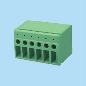 BCDT2300 / PCB terminal block - 6.35 mm