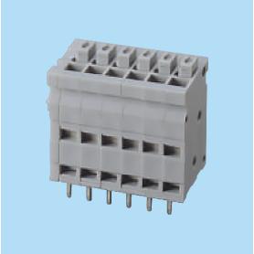 BC013810 / Screwless PCB terminal block Cage Clamp - 2.54 mm