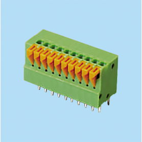 BC141V / Screwless PCB terminal block Cage Clamp - 2.54 mm