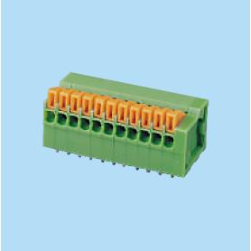 BC141R / Screwless PCB terminal block Cage Clamp - 2.54 mm