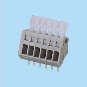 BCWKA250A / Screwless PCB terminal block Spring Clamp - 2.50 mm