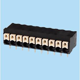 BC013851-XX-L / Screwless PCB terminal block Cage Clamp - 3.50 mm