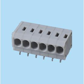 BC144R-XX-P1 / Screwless PCB terminal block Cage Clamp - 3.81 mm