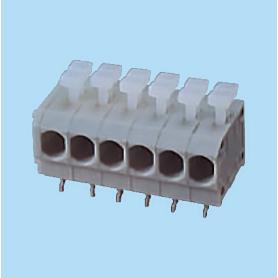 BC144RA-XX-P2 / Screwless PCB terminal block Cage Clamp - 3.96 mm