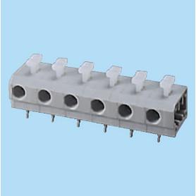 BC144RA-XX-P3 / Screwless PCB terminal block Cage Clamp - 7.50 mm