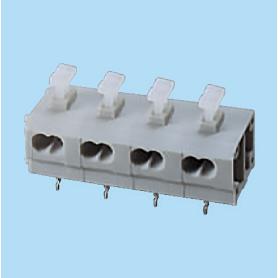 BC244RA-XX-P3 / Screwless PCB terminal block Cage Clamp - 7.50 mm