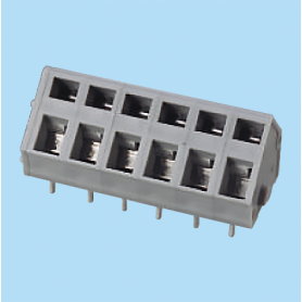 BCWKA500 / Screwless PCB terminal block Spring Clamp - 5.00 mm