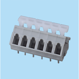 BCWKA500A / Screwless PCB terminal block Spring Clamp - 5.00 mm
