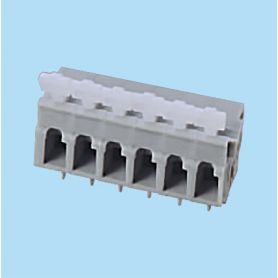 BCWKR500A / Screwless PCB terminal block Spring Clamp - 5.00 mm
