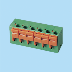 BC142V / Screwless PCB terminal block - 5.08 / 7.62 mm