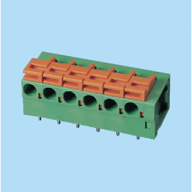 BC142R / Screwless PCB terminal block - 5.08 / 7.62 mm